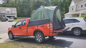 The Most Compatible Chevy Avalanche Tent — milliard-truck-tent