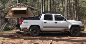 The Most Compatible Chevy Avalanche Tent — smittybilt-roof-tent-2
