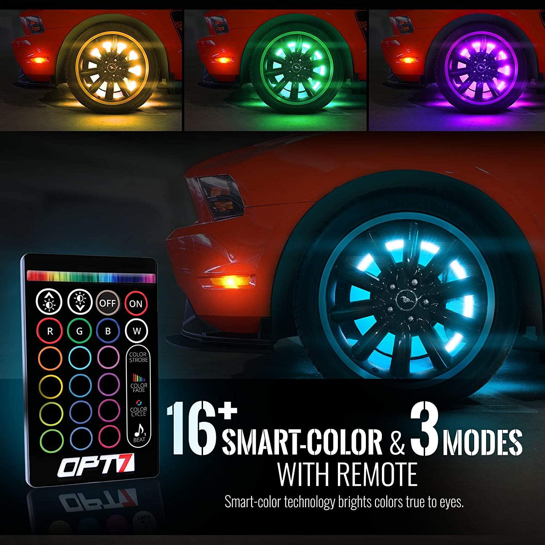 Opt 7 Aura 3 into 1 LED Strips Sound Sync
