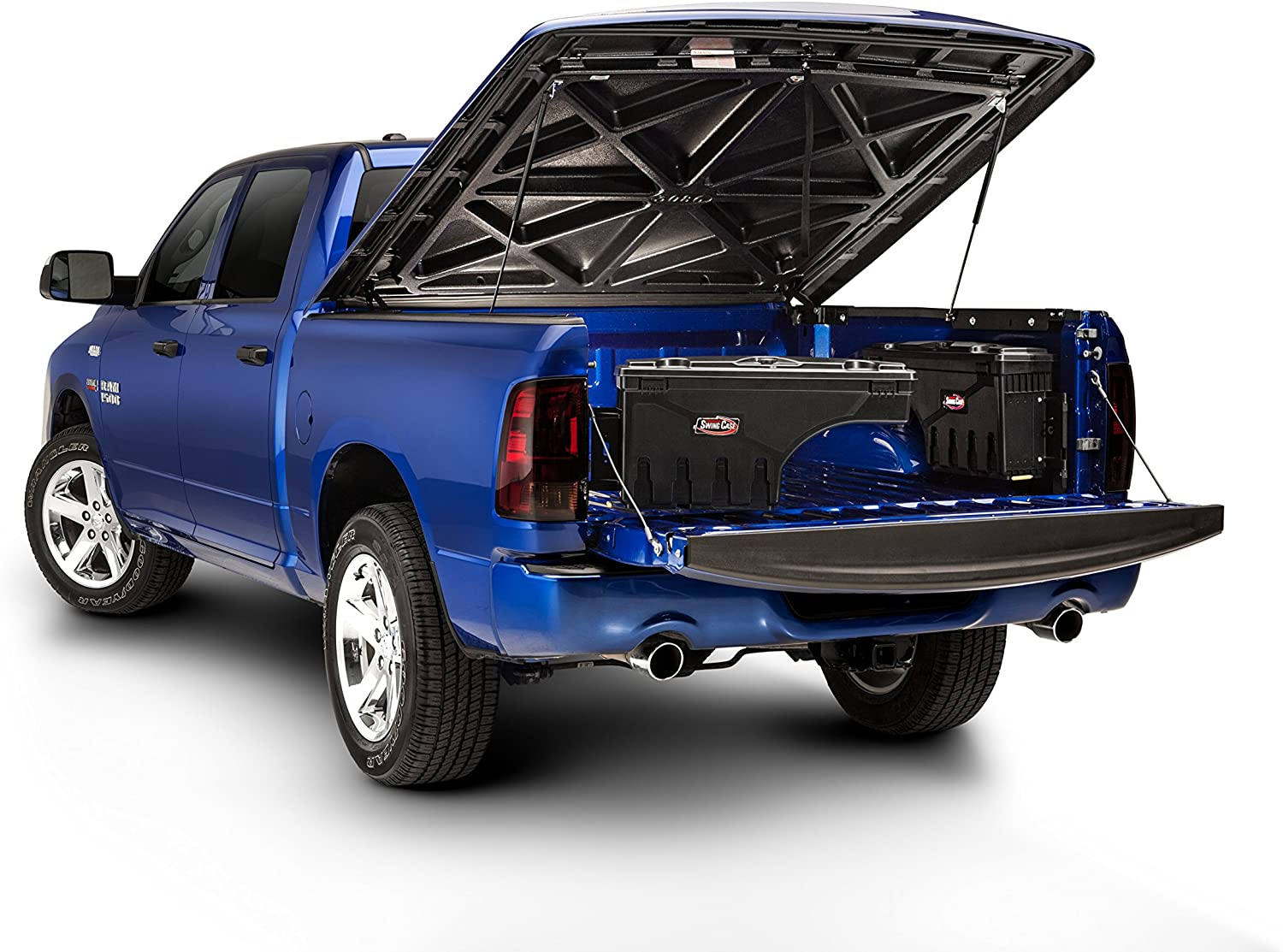 Undercover Swing Case mounted on a Dodge Ram model years 2002 to 2018