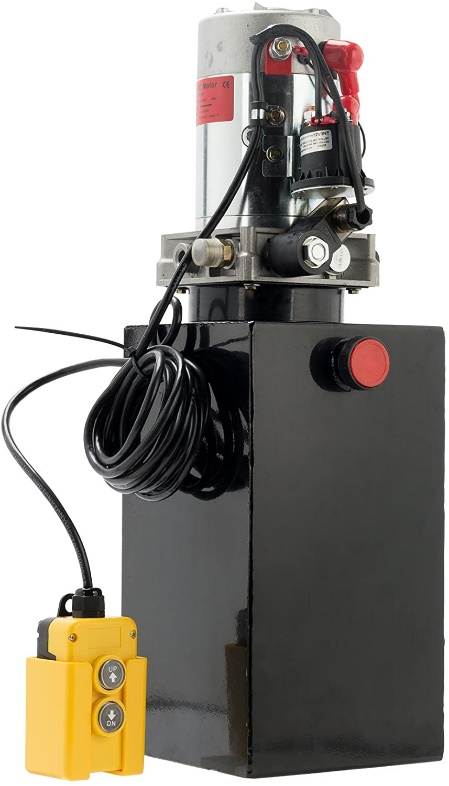CO-Z Single Acting Hydraulic Pump replacement pump for dump box kits with a rating of 3600 PSI