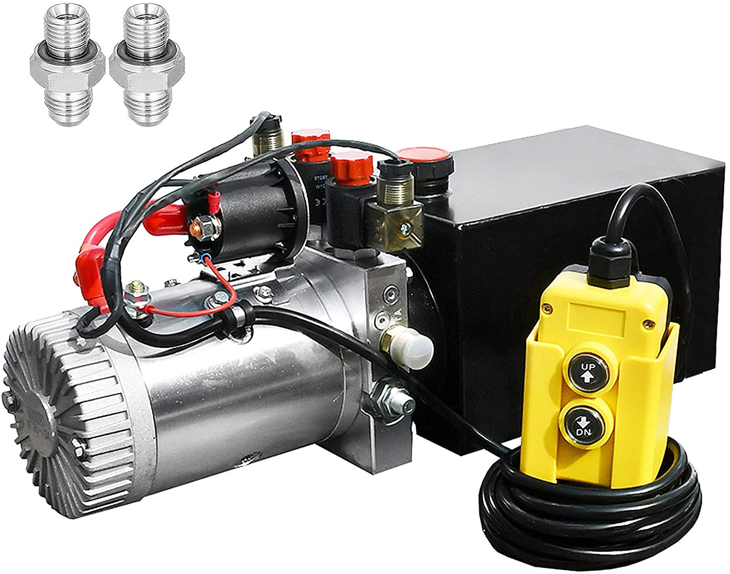 Fisters brand Double Acting Hydraulic Pump with a rating of 3200 PSI.