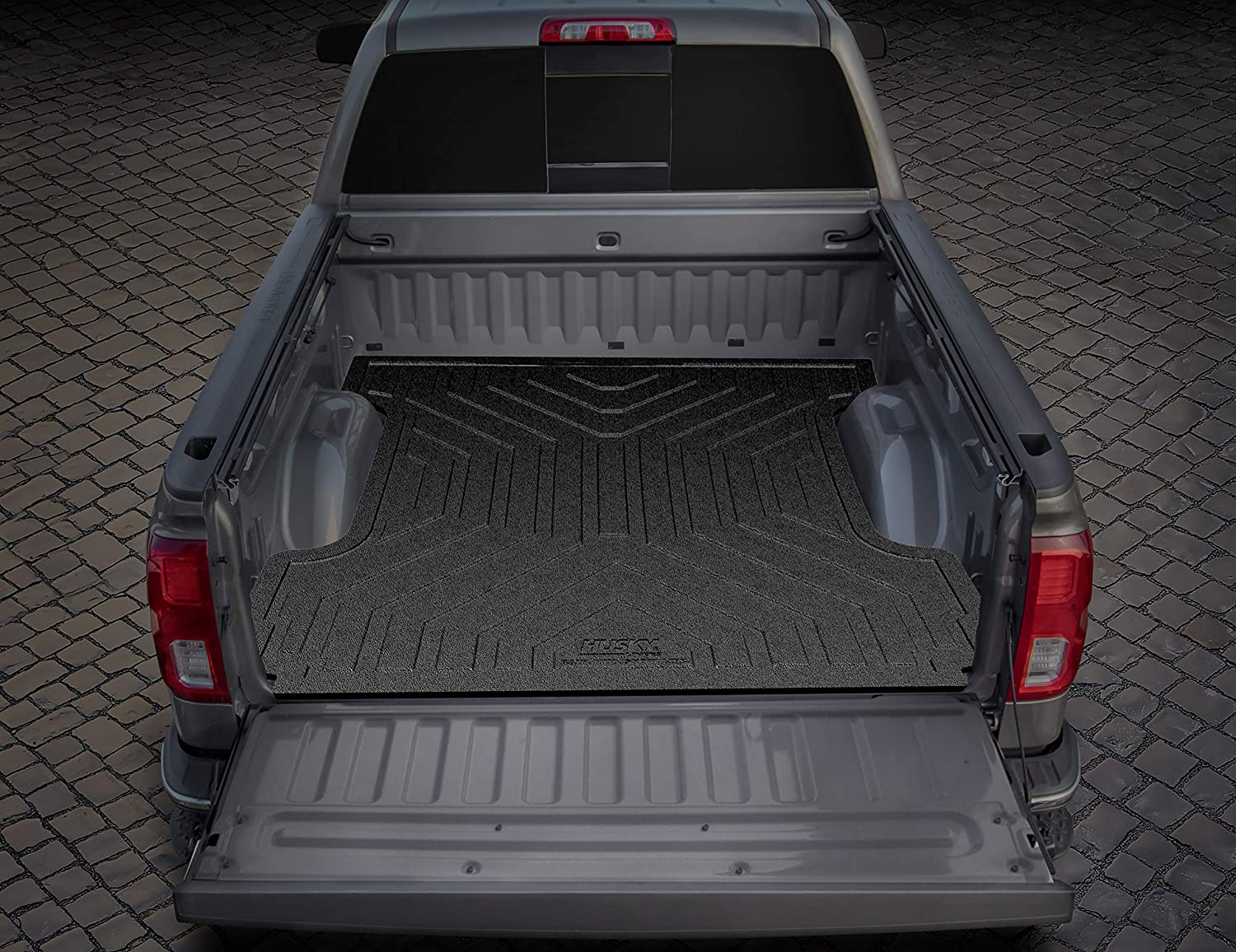 Husky Liner Heavy Duty Bed Mat helps in preserving the truck bed against heavy loads and cargo scrapings.