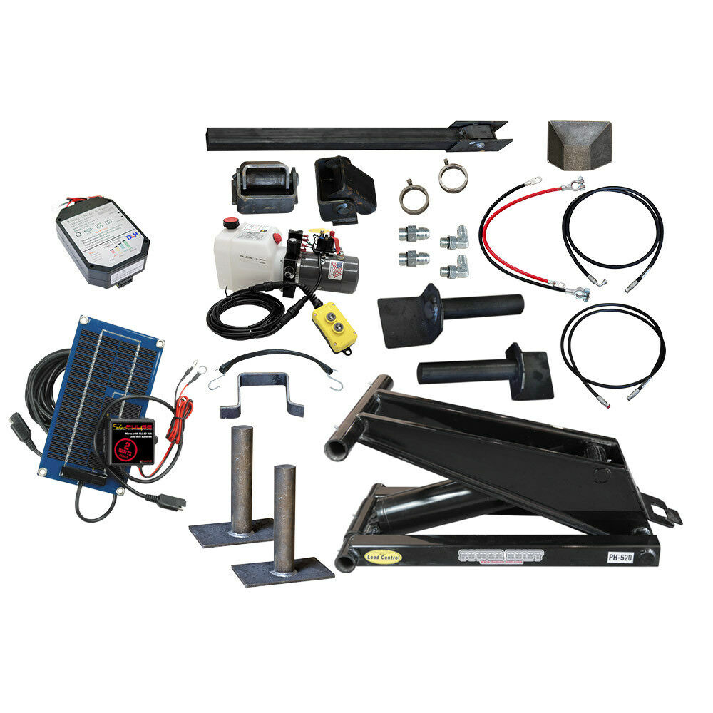 The PH520 Premium Kit that includes a solar charger for the battery.