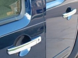 FRONTIER 2005-2012 NISSAN (KINGCAB) (Door Handle Cover Kit – (does NOT include passenger key access) – ABS plastic with chrome overlay) DH25510