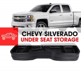 CHEVY SILVERADO UNDER SEAT STORAGE: REVIEW OF IDEAL STORAGE SOLUTIONS