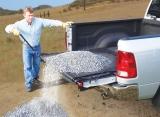 Pickup Truck Unloader. The Loadhandler: No Shoveling, No Climbing, No Bad Back!